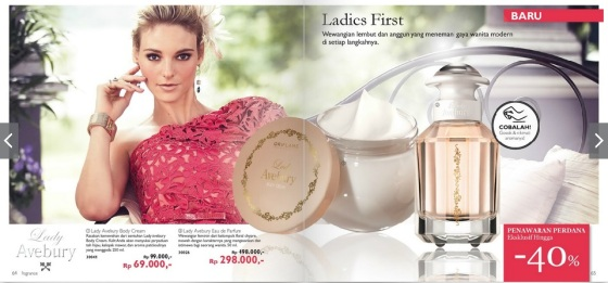 Lady Avebury Eau de Parfum & Body Cream
