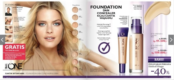 The ONE Illuskin Concealer & The ONE IlluSkin Foundation